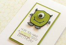 Creative Cards & Crafts / Let your creative juices flow. / by Nicole Andrews