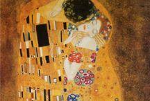 ~Powerful ~Art ~ / ~Gustav Klimt ~ The Kiss~ / by Valaree Wahler