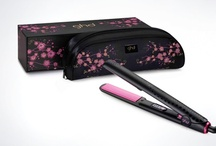 ghd Pink Cherry Blossom Inspiration / Shimmering sweetness of the ghd limited edition Pink Cherry Blossom