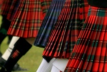 Tartan / Woolen cloth, checkered or crossbarred with narrow bands of various colors, much worn in the Highlands of Scotland; hence, any pattern of tartan; also, other material of a similar pattern.
