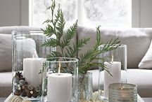 Candles & Christmas decors