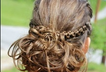 Locks of Love / Styles to make those locks look luscious! Not really luscious, but beautiful anyway!