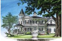 Dream Home and Furnishings / I love the style of homes from the 1890s.  The ornate wood carvings, intricate detail to the woodwork, and the character that this style of home has.
