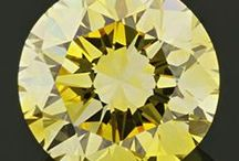 Yellows / Shades of yellow inspired by yellow lab-created diamonds