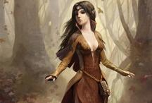 Fantasy, Princesses, Elves & Warriors / by Karen de Goede
