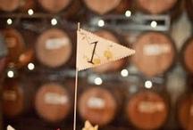 wedding: table numbers