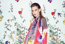 FLORALS print and pattern / floral fashion inspiration