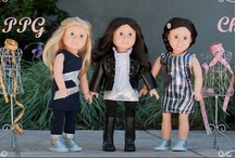 Très Chic in France / Discover the fashions of of #France with our #dolls of the world / by PenPalGirls