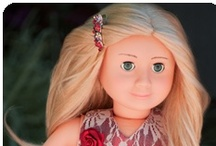 """Doll Gifts / Offering 18"""" #dolls, #accessories, & #clothes from around the #world that fit #AmericanGirl and other popular 18 inch doll brands / by PenPalGirls"""