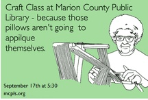 Craft Class / by Marion County Public Library System