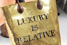"""Luxury!!! / """"LUXURY IS RELATIVE - Moschino"""". (Please no nudity, pornography, advertising...) / by Isabel Gueller"""