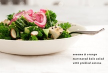 Soup and Salad / Enjoy these #health soup and salad options. #health #nutrition