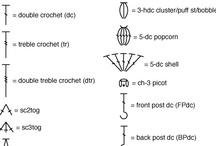 Símbolos crochet