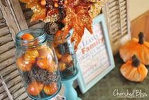 aLL aUtuMn! / Fall décor and ideas / by Coley Jarvis