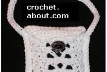 Crocheting bags