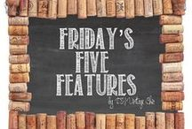 DIY Vintage Chic ~ Friday's Five Features ~ 2015 / After endless {and an embarrassing} number of hours spent online below are the Five Features for this Friday!