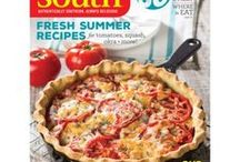 Our Issues / Skim our magazine covers for recipe ideas!