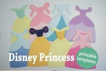 Disney Princess Party Decor / Decor and party ideas for a Disney Princess theme.