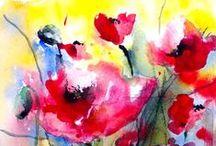 Artistic Relief / #paintings #drawings #digital art / by Bobbie Ann