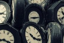 AS TIME PASSES BY / Time pieces. / by Pam Stovall