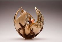 ART - ORGANIC - METAL & WOOD / art, objects and natural materials such as wood and metal / by Pam Stovall