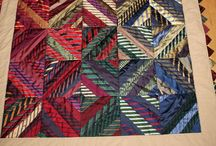 Dad's Ties / After my dad passed away I had a huge collection of his neckties. What to do with all of these?  This is my growing collection of ideas. / by Kelly Lorden