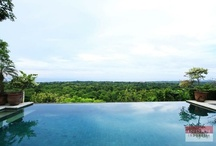 Villa Bayu, Uluwatu / Villa Bayuis the ultimate hilltop hideaway. Relax and enjoy the breathtaking views in this interior designed villa, with a team of staff to assist you, the beach only two minutes away, and all the best that Bali has to offer within easy reach.