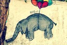 I LOVE Street Art / Street art is beautiful and inspirational #street art #graffiti / by Bobbie Ann