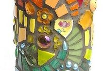 Crafts: Glass, Ceramics, & More / #glass #ceramic #clay #polymer / by Bobbie Ann