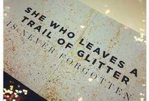 Fling Glitter!