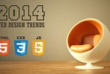 Web Design Trends for 2014 / Get the latest on the design trends to look out for in 2014