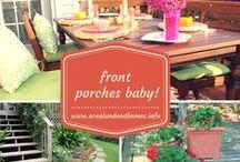 Creative Front Porch Ideas