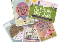 Baby Cards by Milestone™ / Milestone™ Baby Cards. Set of 30 cards to mark your baby's first year in weeks, months and big events. www.milestone-world.com