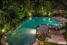 Villa Mata Hari, Seminyak / A heavenly oasis in Seminyak called Villa Mata Hari is just so breathtaking. This charming Bali villa has a mixture of modern and traditional.