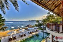 Villa Jukung, Candidasa / Villa Jukung, a Bali villa located in a small fishing village called Sengkidu. Precisely nestled just by the beach, Villa Jukung has been blessed with a natural beauty scenery of the blue ocean and wide sky.