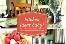 Kitchen Ideas Baby! / I love finding cool ideas for decorating, remodeling, etc. This is my board where I can share with others the great ideas I find for creating amazing kitchens. Be sure to visit my blog for ideas for all around your house. http://www.arealandandhomes.info