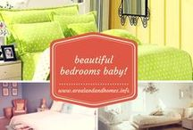 """Beautiful Bedrooms Baby! / Nothing is more relaxing than a beautiful bedroom, it's the thing that """"Sweet Dreams"""" are made of. Visit my board for great ideas I've collected and then visit my website for even more ideas for around your house. http://www.arealandandhomes.info"""