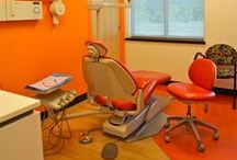 Embrace the Orange / Dental instruments, devices and decor in CDA's favorite color...orange!