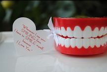 "Dental Love / ""Sweet tooth"" treats, gift ideas and dental humor to celebrate Valentine's Day as a dental professional."