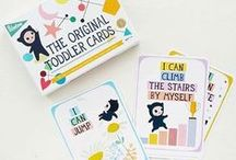 Toddler Cards by Milestone™ / 30 cards with memorable events that occur somewhere around the ages of 1 to 4.  www.milestone-world.com