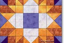 Free Quilt Block Patterns / Free quilt block patterns for the beginner or for those more advanced quilters.