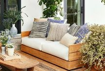 Outdoor Spaces / Beautiful outdoor spaces, patios and landscaping.