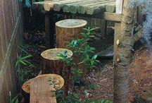 Outdoor Environment / Preschool - early elementary environment ideas.