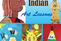 Native Americans Theme / Preschool, kindergarten, early elementary theme / unit curriculum, crafts, songs, finger plays, printables, games, math, science, ideas. See also Thanksgiving.