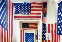 Americana / I'm a star spangled girl at heart!  Here's some great ideas for Red White and Blue! / by Angel ~ Fleece Fun