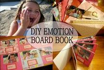 Emotions Theme / Preschool, kindergarten, early elementary theme / unit curriculum, crafts, songs, finger plays, printables, games, math, science, ideas.