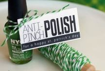 St. Patty's Day Chic / Who says St. Patrick's day can't be chic?  Here are some classy ideas. / by Angel ~ Fleece Fun