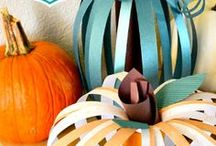 halloween/fall crafts / by Heather Emerson Hollis