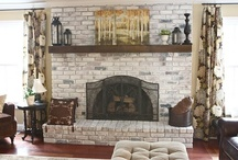 Fireplace Makeovers / by Susie {a.k.a. Mrs. V}