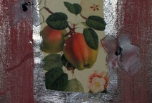 """my small Fruit Paintings, """"Herbario"""" and other treasures.. / www.cassandrawainhouse.it"""